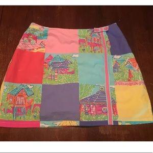 Lilly Pulitzer skirt palm beach 4